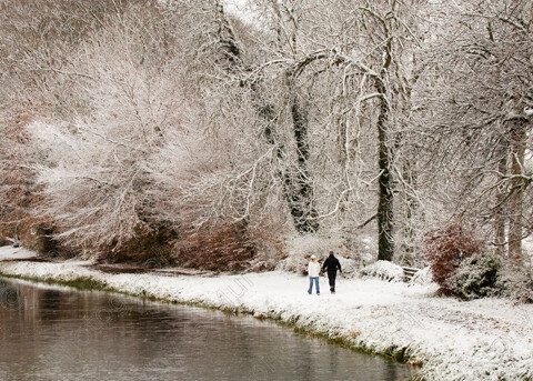 TGM-1026 CanalWalk-White 14x10 